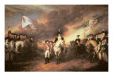 Surrender of Cornwallis at Yorktown  19 October 1781