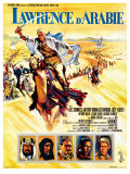 Lawrence of Arabia  French Movie Poster  1963