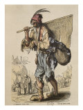 Captain of Bohemians  after Jacques Callot
