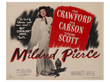 Mildred Pierce  UK Movie Poster  1945