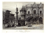 The Rathhaus  Hildesheim  engraved by JJ Crew  printed by Cassell and Company Ltd