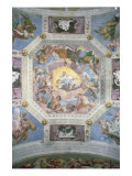 Universal Harmony  or Divine Love  from the Ceiling of the Sala di Olimpo  c1561