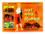 Hot Rod Rumble  UK Movie Poster  1957
