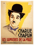 City Lights  French Movie Poster  1931