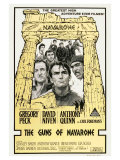 The Guns of Navarone  Australian Movie Poster  1961