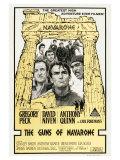 The Guns of Navarone  Australian Movie Poster  1961