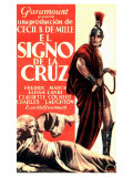 The Sign of the Cross  Spanish Movie Poster  1932