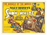 Snow White and the Seven Dwarfs  UK Movie Poster  1937