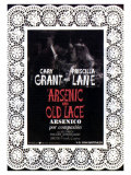 Arsenic and Old Lace  Spanish Movie Poster  1944