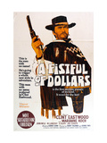 A Fistful of Dollars  Australian Movie Poster  1964