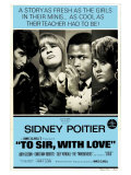 To Sir With Love  Australian Movie Poster  1967