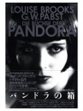 Pandora's Box  Japanese Movie Poster  1928