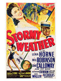 Stormy Weather  Swedish Movie Poster  1943