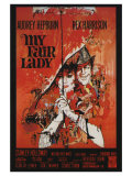 My Fair Lady  French Movie Poster  1964