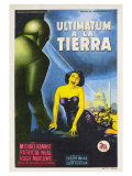 The Day The Earth Stood Still  Spanish Movie Poster  1951