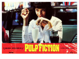 Pulp Fiction  Spanish Movie Poster  1994