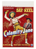 Calamity Jane  Belgian Movie Poster  1953