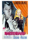 This Gun For Hire  German Movie Poster  1942