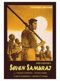 Seven Samurai  Italian Movie Poster  1954