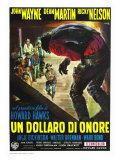 Rio Bravo  Italian Movie Poster  1959
