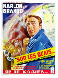 On the Waterfront  Belgian Movie Poster  1954
