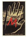 M  German Movie Poster  1931