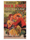 One Man Law  1932
