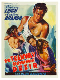 A Streetcar Named Desire  Belgian Movie Poster  1951