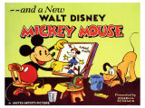 A New Walt Disney Mickey Mouse, 1932 Reproduction d'art