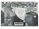 Metropolis  UK Movie Poster  1926