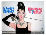 Breakfast At Tiffany&#39;s  Sweden Movie Poster  1961
