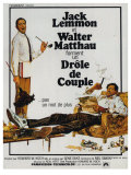 The Odd Couple  French Movie Poster  1968