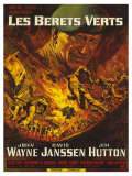 Green Berets  French Movie Poster  1968