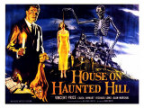 House On Haunted Hill  UK Movie Poster  1958