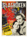 The Sea Hawk  Swedish Movie Poster  1940