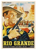 Rio Grande  Mexican Movie Poster  1950