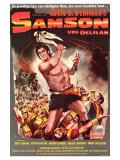 Samson & Delilah  German Movie Poster  1949