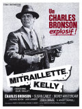 Machine Gun Kelly  French Movie Poster  1958