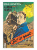 On the Waterfront  French Movie Poster  1954