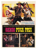Django Shoots First  Yugoslavian Movie Poster  1966