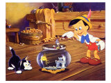 Pinocchio, 1940 Reproduction d'art