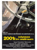2001: A Space Odyssey  German Movie Poster  1968