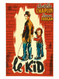 The Kid  French Movie Poster  1921