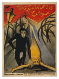 The Cabinet of Dr Caligari  Italian Movie Poster  1919