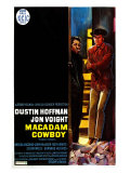 Midnight Cowboy  Belgian Movie Poster  1969