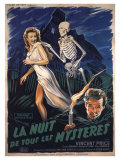 House On Haunted Hill  French Movie Poster  1958