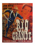 Rio Grande  French Movie Poster  1950
