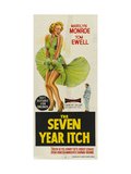 The Seven Year Itch  Australian Movie Poster  1955
