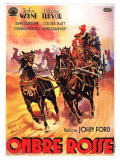 Stagecoach  Italian Movie Poster  1939