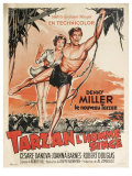 Tarzan The Ape Man  French Movie Poster  1932